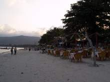 Restaurants along Chaweng Beach